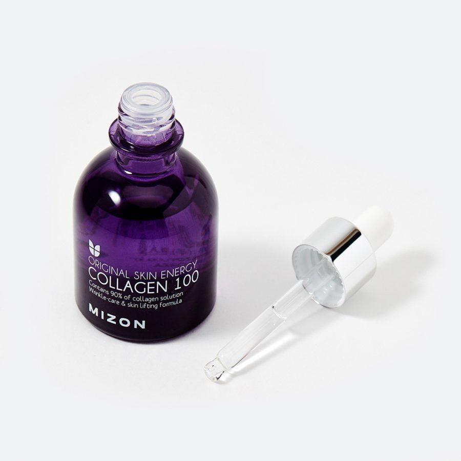 Mizon Collagen 100 Original Skin Energy, ser colagen, colagen marin, ser corean, made in korea, mizon, mizon romania, colagen, ser antirid, ser +35, 50