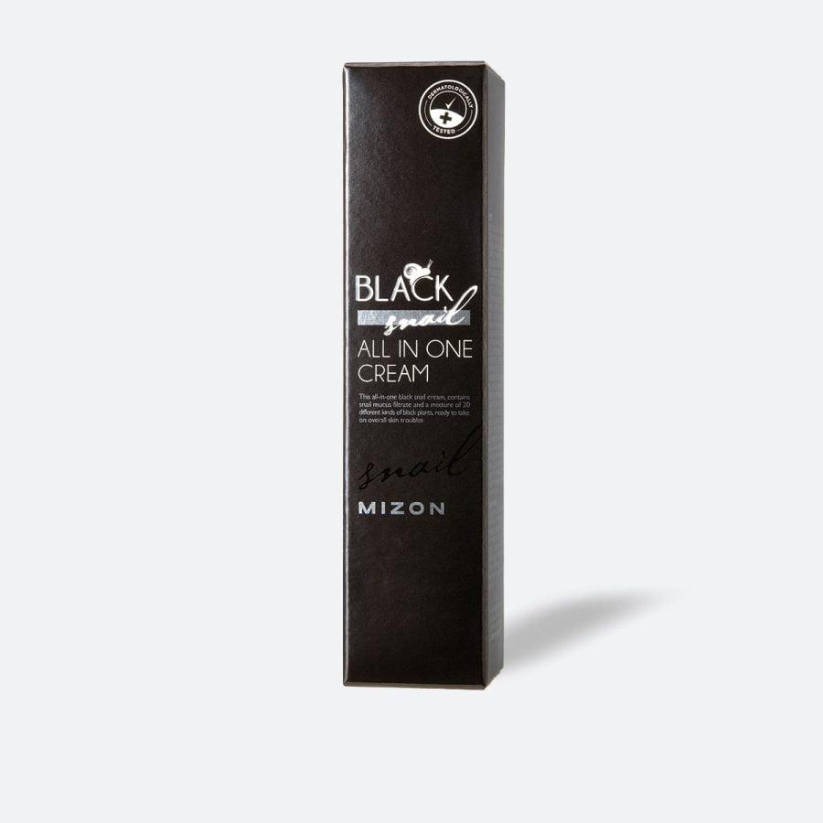 Mizon Black Snail All In One Snail Repair Cream, crema cu melc, crema cu extract de melc, cosmetice coreene, k beauty, korean beauty, 35 ml, 10