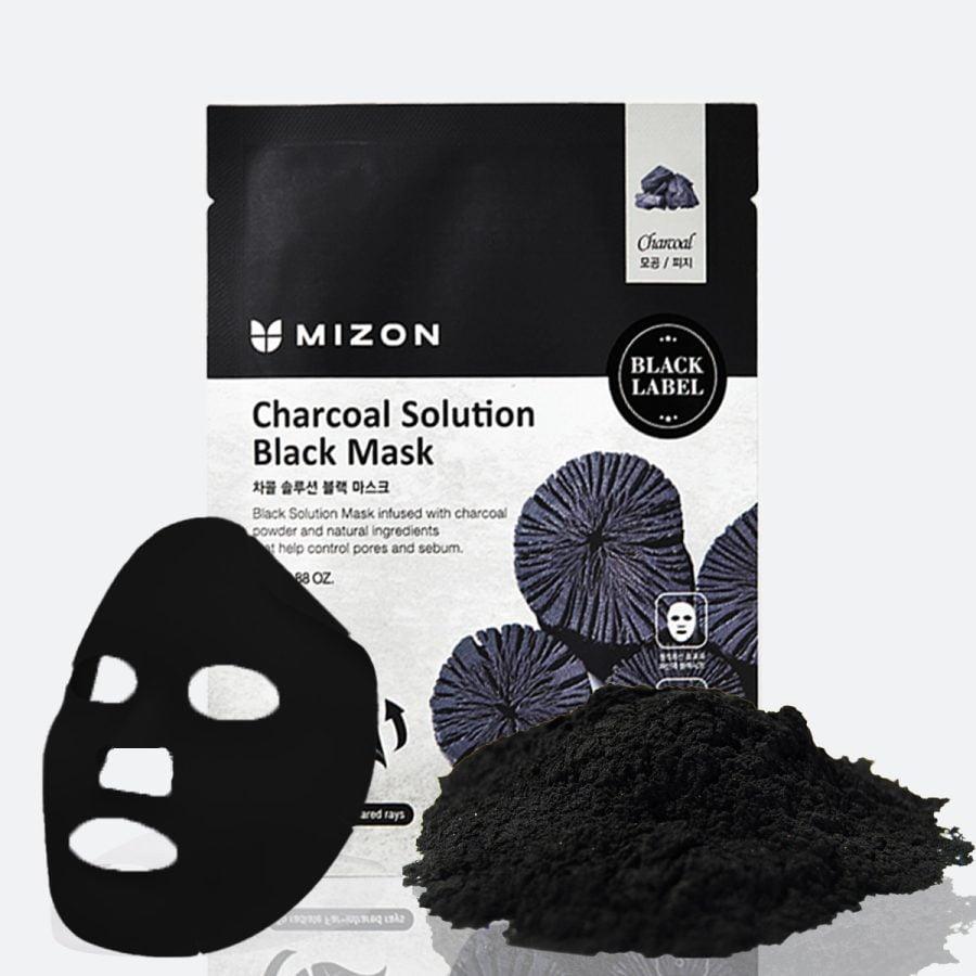 Mizon Charcoal Solution Black Mask