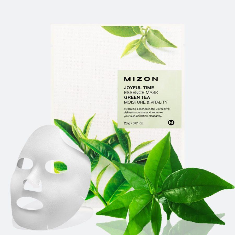 Mizon Joyful Time Essence Mask [Green Tea]